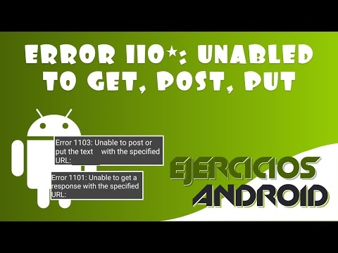 "Solución ""Error 1101, 1103 y 1104: Unable to"" 