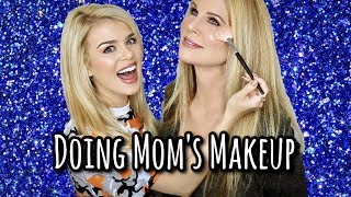 slaying my mom's makeup