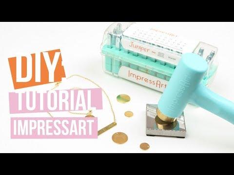 ImpressArt | Stempelen op Designer Quality metaal ♡ Tutorial