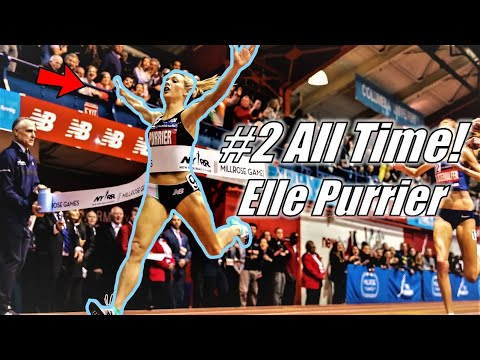 2nd Fastest Mile Ever! NEW AMERICAN RECORD! || Elle Purrier's INCREDIBLE 4:16.85 Mile
