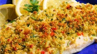Herb Crusted Basa Fillet Recipe.