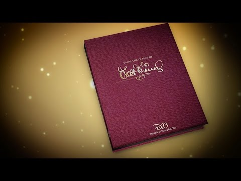 Unwrapping D23's 2016 Gold Member Gift