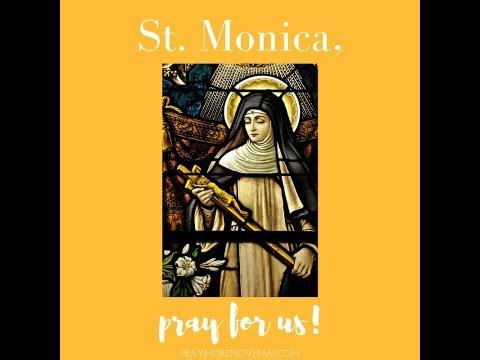 Day 1 - St  Monica Novena 2019 - Novena Prayers - Catholic