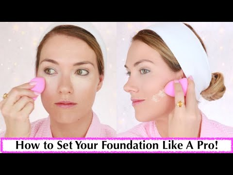 HOW TO USE SETTING POWDER to set your foundation   HOW TO BAKE with SETTING POWDER   Rita Almusa