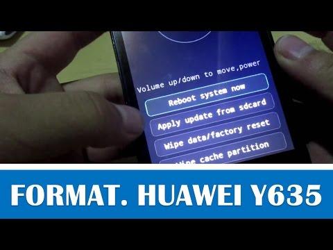 Formatear Huawei Y635