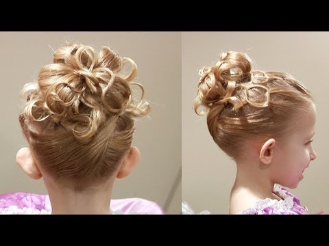 Cute Chain Updo // Princess Hairstyle // Cute Girls Hairstyles