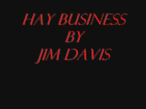 Hay Business by Jim Davis