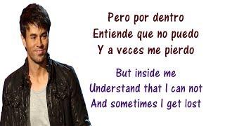 enrique iglesias cuando me enamoro lyrics english and spanish ft juan luis guerra translation