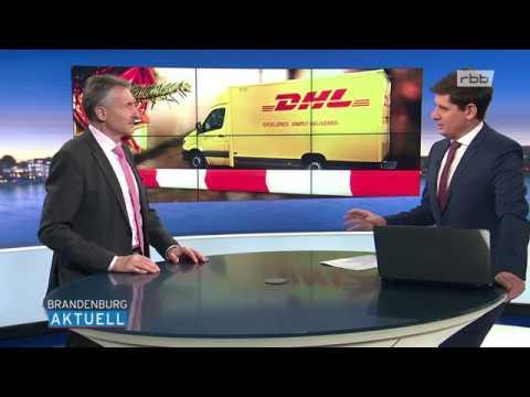 TV Doku: Ausführlich - Potsdamer Bombe galt Paketdienstleister DHL