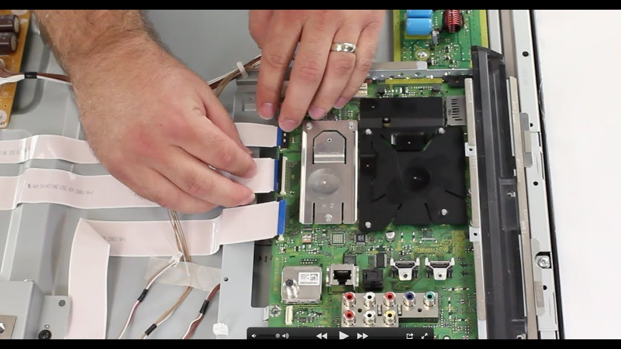 Panasonic Plasma TV 9 Blink Code Explained Repair For 2011 Panasonic Plasma  TV Images