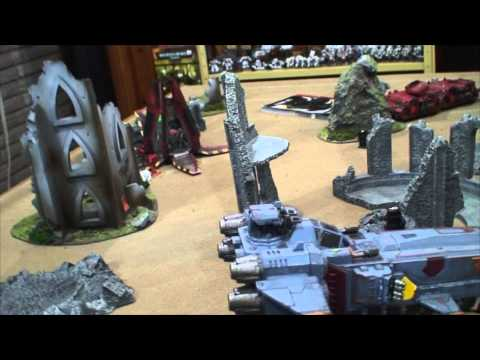 TBMC - HD Video Batrep - 1500 Space Wolves vs Blood Angels