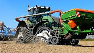 Sowing Lucerne /Alfalfa | FENDT 936 on CAMSO Tidue Tracks | AEBV