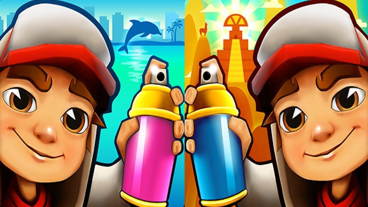 Subway Surfers Miami VS Peru Android iPad iOS Gameplay HD ...