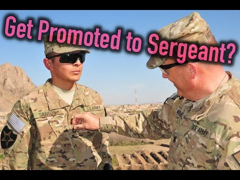 How To Become A Sergeant