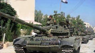 الجيش السوري يصد هجمات للمسلحين في ريف حلب الجنوبي   21-4-2016