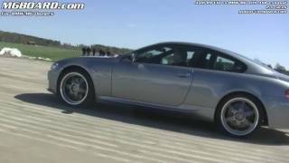 1080p audi r8 v10 vs bmw m6 with asr exhaust m6board com