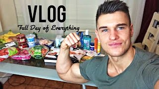 Full Day Of Intermittent Fasting - Grocery Shopping And Arm Workout