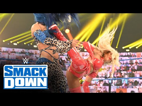 Carmella once again attacks Sasha Banks: SmackDown, Nov. 13, 2020