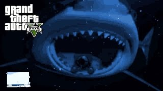 GTA 5: MEGALODON SHARK EASTER EGG !!