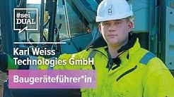 Ausbildung | Baugeräteführer*in | Karl Weiss | #seiDUAL TV