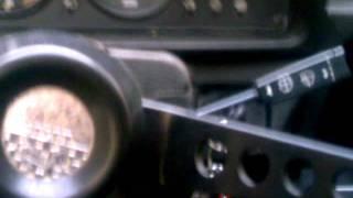 Škoda 130L - poslední výjezd před zazimováním.