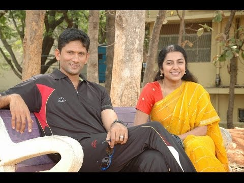 Former Indian Cricket Player Venkatesh Prasad and Suhasini in Sachin Movie
