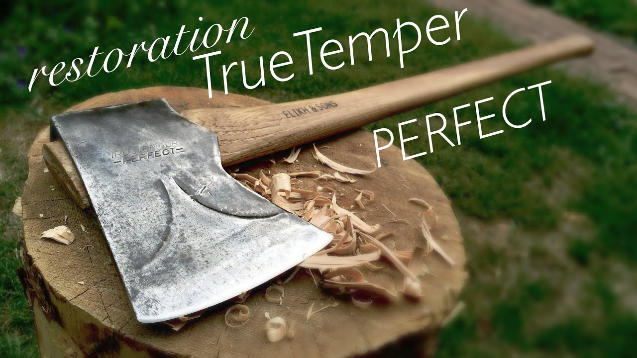 true temper kelly perfect axe restoration youtube. Black Bedroom Furniture Sets. Home Design Ideas