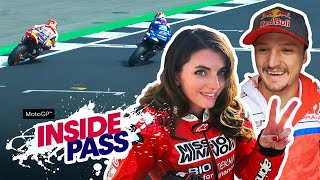 MotoGP 2019 Great Britain: 300km/h On The Ducati X2 Takes Vanessa's Breath Away | Inside Pass #12