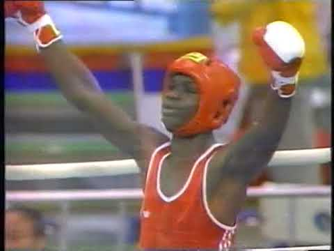 R.Tuur (HOL) vs K.Banks (USA) (Olympic Boxing Seoul 88)