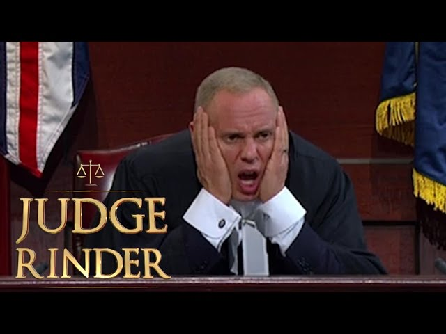 Image result for judge rinder i can smell a lie