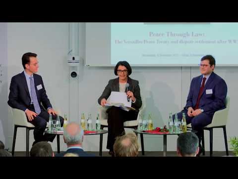 Panel V: Settlement of conflicts through international courts (2nd part)