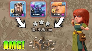 OMG😲OP War Attack With Farming Army - Legendary Attack In Clash Of Clans