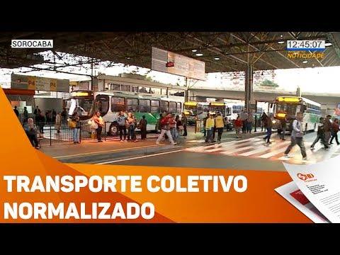 Transporte coletivo normalizado - TV SOROCABA/SBT