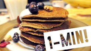 『1Min』健身好朋友!零負擔香蕉鬆餅 Workout Banana Pancake / Jeek's Foodmaze 吉克美食日記