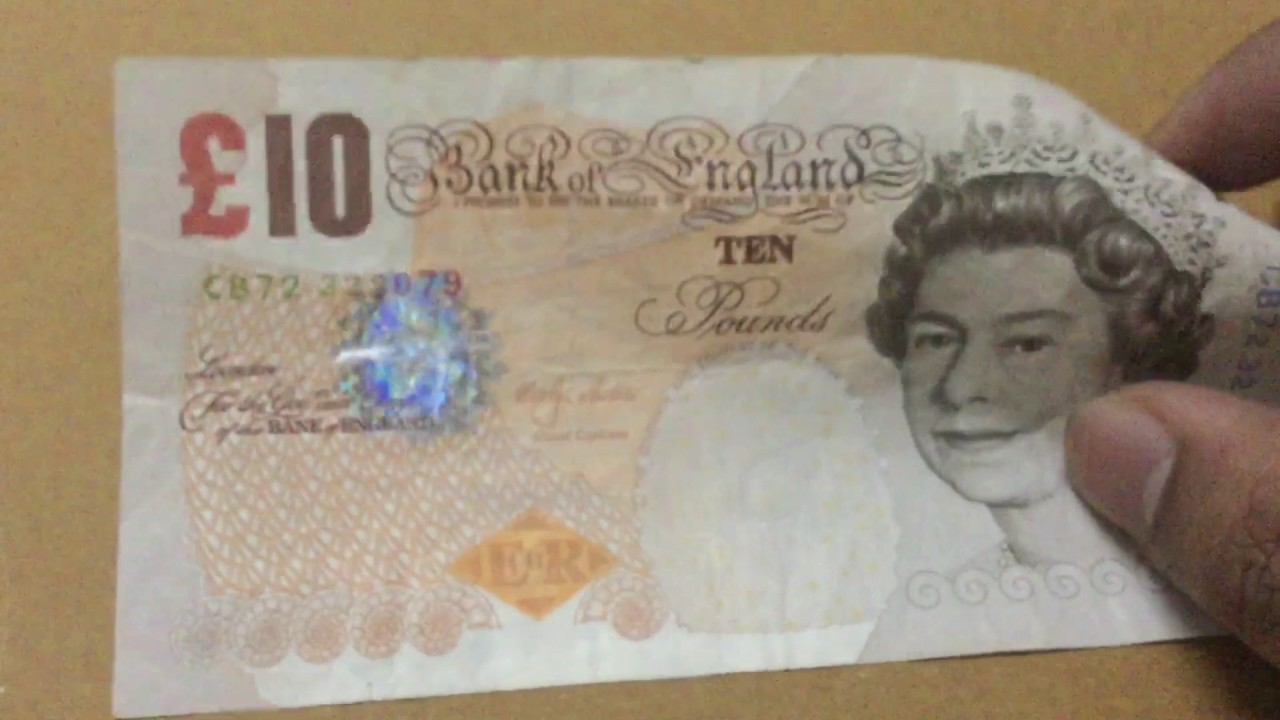 10 Pounds Great Britain Currency Review And Details