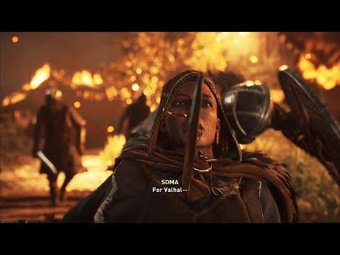 Assassin's Creed: Valhalla - Soma's Death Scene