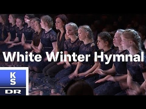 White Winter Hymnal med DR JuniorKoret