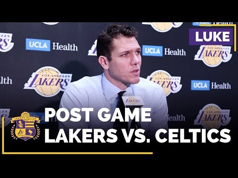 Luke Walton Says Lakers Need To