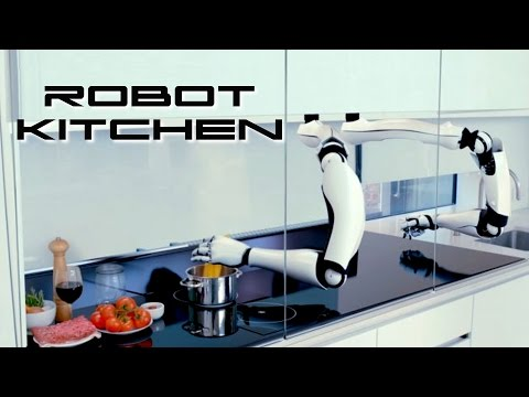 Robot Kitchen - Behold The Future