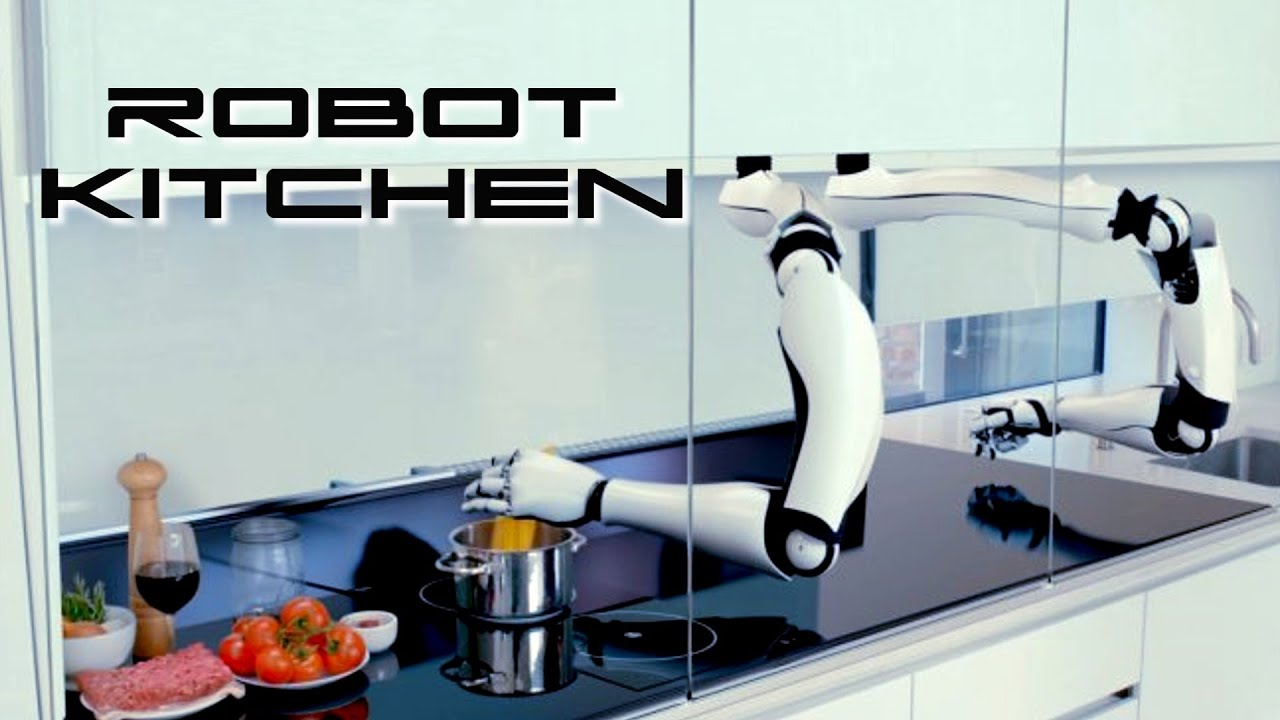robot kitchen behold the future youtube. Black Bedroom Furniture Sets. Home Design Ideas
