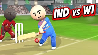 3D ANIM COMEDY - CRICKET INDIA VS WESTINDIES || 1st Inning || LAST OVER