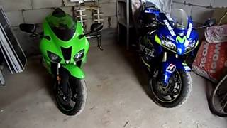 CBR 600 RR vs Kawasaki ZX6R. Сравнительный обзор.