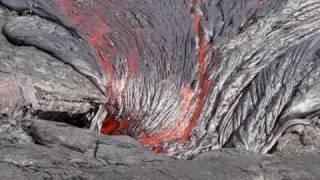 Kilauea Lava Flow Feb 16, 2010