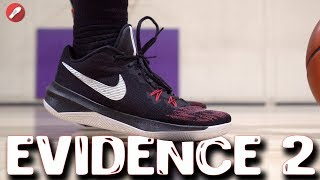Nike Zoom Evidence 2 Performance Review! $90 Budget Model Good??