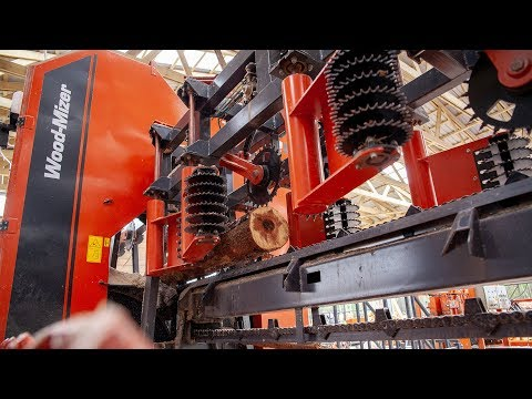 Titan Sawmill Line in Action in Poland | Wood-Mizer - YouTube