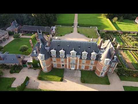Château de Miromesnil by drone. Music: Homebase - Dzihan & Kamien