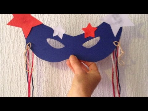 Make a 4th of July Eye Mask - DIY Crafts - Guidecentral