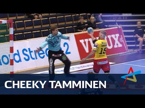 Terrific Teemu Tamminen lobs Leon keeper | Round 1 | VELUX EHF Champions League 2018/19