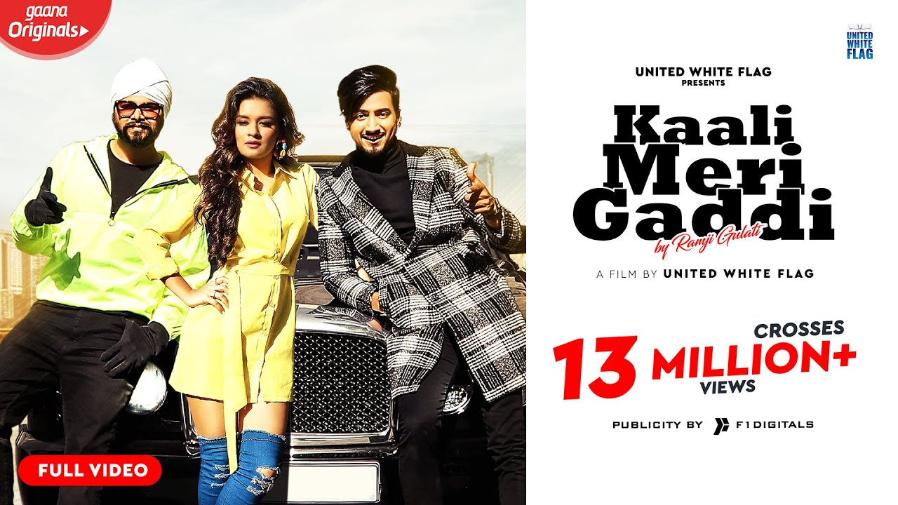 Kaali Meri Gaddi (Full Video) | Ramji Gulati Ft. Mr Faisu & Avneet Kaur | United White Flag