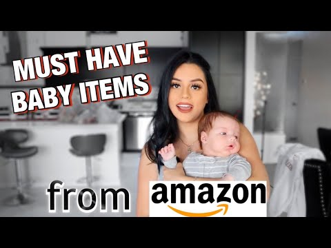 MUST HAVE BABY ITEMS FROM AMAZON